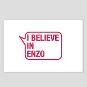 I Believe In Enzo Postcards (Package of 8)