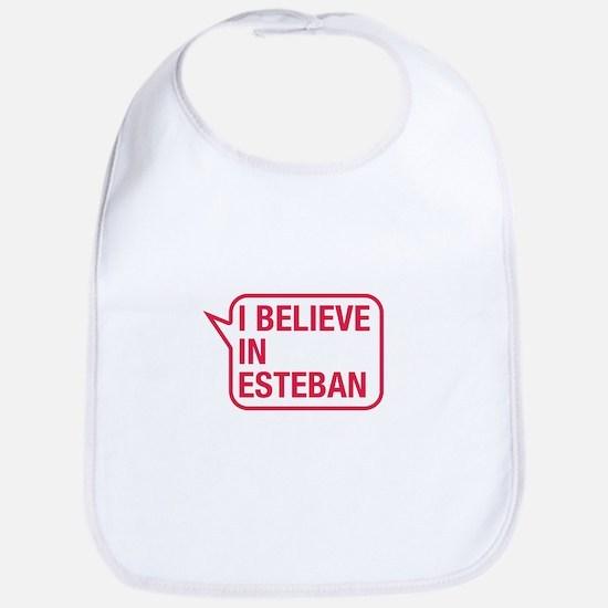 I Believe In Esteban Bib