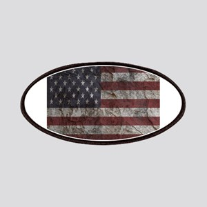 Cave Wall American Flag Patches