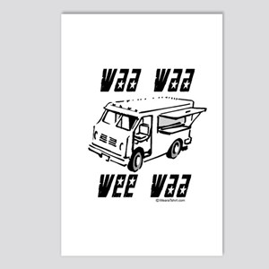 Waa waa wee waa Postcards (Package of 8)