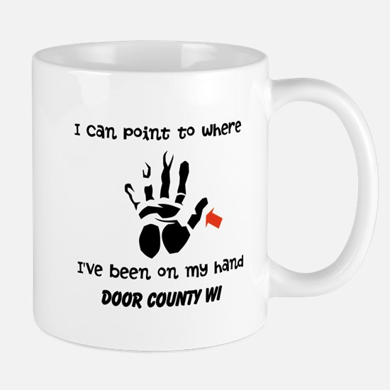 I Can Point To Where Ive Been On My Hand Mug