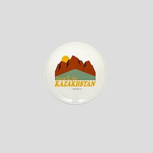 Beautiful Kazakhstan Mini Button