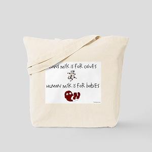 Cows Milk/Human MilkTote Bag