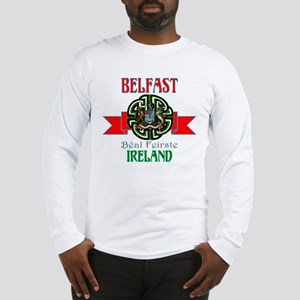 belfast Remake ribbon3 Long Sleeve T-Shirt