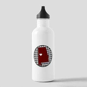 Roll Tide in my Heart Water Bottle