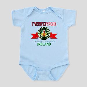 Carrickfergus Coat of Arms NEW Body Suit