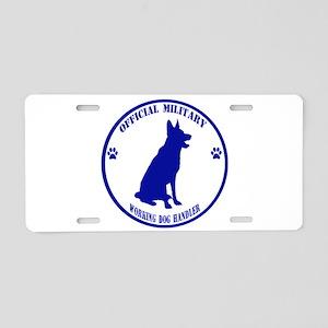 Blue Official Military Working Dog Handler Aluminu