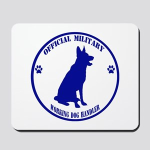 Blue Official Military Working Dog Handler Mousepa