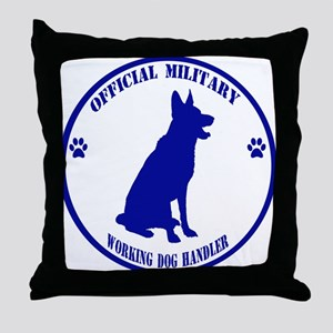 Blue Official Military Working Dog Handler Throw P