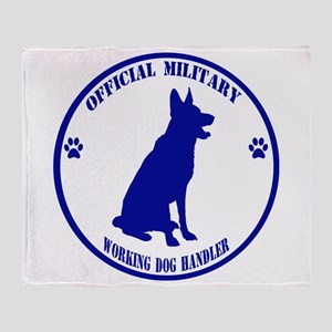 Blue Official Military Working Dog Handler Throw B
