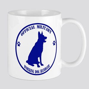 Blue Official Military Working Dog Handler Mug