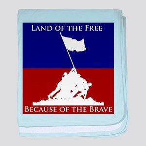 Land Of The Free Because Of The Brave Soldiers bab