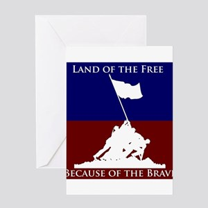 Land Of The Free Because Of The Brave Soldiers Gre
