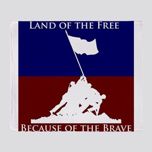 Land Of The Free Because Of The Brave Soldiers Thr