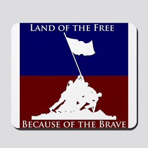 Land Of The Free Because Of The Brave Soldiers Mou