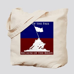 Land Of The Free Because Of The Brave Soldiers Tot