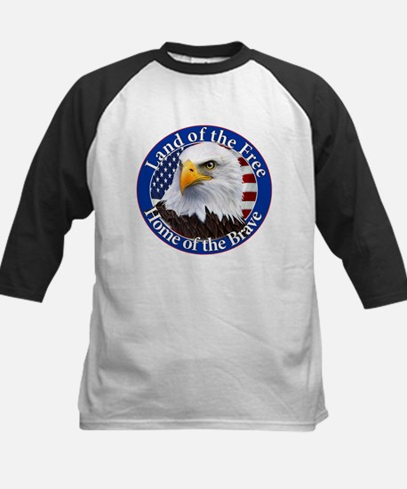 Land Of The Free Home Of The Brave Eagle Baseball