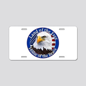 Land Of The Free Home Of The Brave Eagle Aluminum