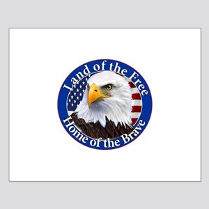 Land Of The Free Home Of The Brave Eagle Posters