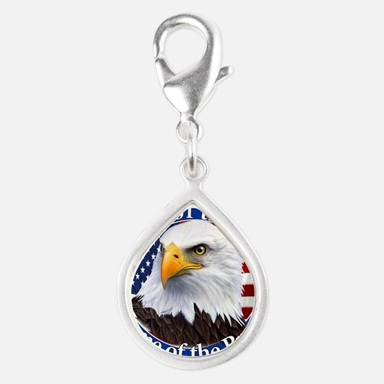Land Of The Free Home Of The Brave Eagle Charms