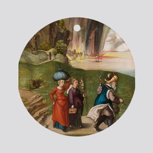 Albrecht Durer - Lot and His Daughters Ornament (R
