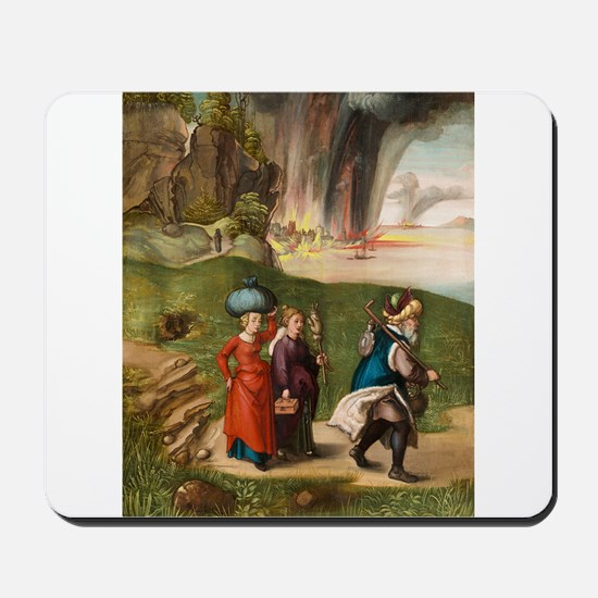 Albrecht Durer - Lot and His Daughters Mousepad