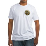 The Kaleidoscope of Color Fitted T-shirt