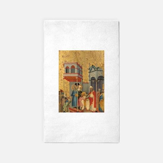 Andrea di Bartolo - Joachim and the Beggars 3'x5'