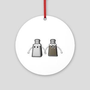 Salt and Pepper Ornament (Round)