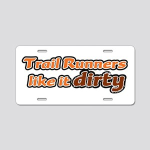 Trail Runners like it Dirty - Orange Dirty Aluminu