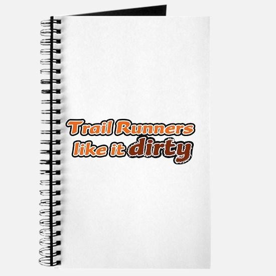 Trail Runners like it Dirty - Orange Dirty Journal