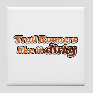 Trail Runners like it Dirty - Orange Dirty Tile Co