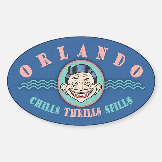 Orlando Chills Sticker (Oval)