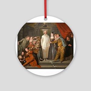 Antoine Watteau - The Italian Comedians Ornament (