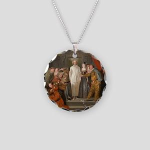 Antoine Watteau - The Italian Comedians Necklace