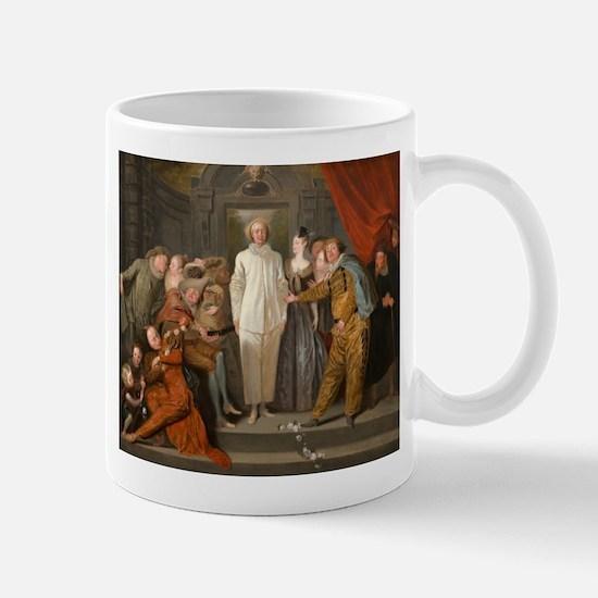 Antoine Watteau - The Italian Comedians Mug