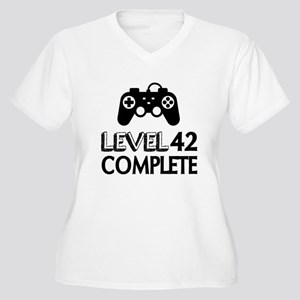 Level 42 Complete Women's Plus Size V-Neck T-Shirt