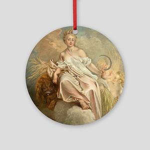 Antoine Watteau - Ceres (Summer) Ornament (Round)