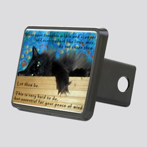 Nibbling Thoughts Black Cat Rectangular Hitch Cove