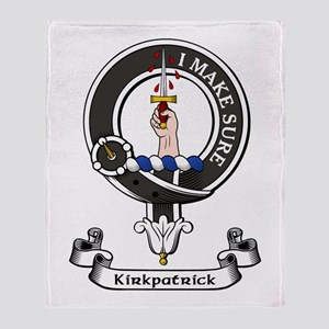 Badge - Kirkpatrick Throw Blanket