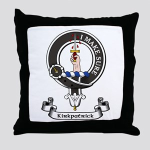 Badge - Kirkpatrick Throw Pillow