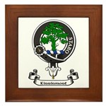 Badge - Kinninmont Framed Tile