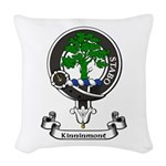 Badge - Kinninmont Woven Throw Pillow