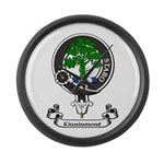 Badge - Kinninmont Large Wall Clock