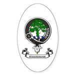 Badge - Kinninmont Sticker (Oval 10 pk)