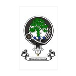 Badge - Kinninmont Sticker (Rectangle 50 pk)