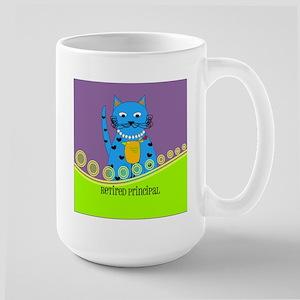 retired principal cat 2 Mug