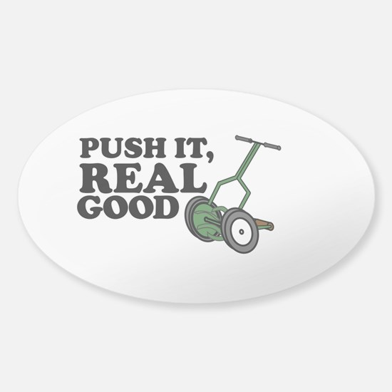 Push It Real Good Gold Decal
