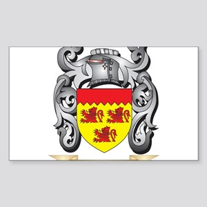 Fishe Coat of Arms - Family Crest Sticker