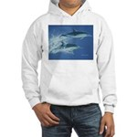 Leaping Dolphins Hooded Sweatshirt